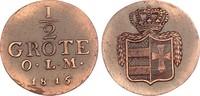 Oldenburg 1/2 Grote 1816 vz, zap. Peter Friedrich Wilhelm 1785-1823 55,00 EUR  zzgl. 4,95 EUR Versand