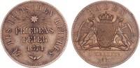 Baden Gedenkkreuzer 1871 ss-vz Friedrich I. 1852-1907 7,00 EUR  zzgl. 4,95 EUR Versand