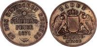 Baden Gedenkkreuzer 1871 ss-vz, feine Patina, zap. Friedrich I. 1852-1907 7,00 EUR  zzgl. 4,95 EUR Versand