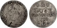 8 Gute Groschen 1758 B Anhalt-Bernburg Victor Friedrich 1721-1765 s/ss,... 35,00 EUR  zzgl. 4,95 EUR Versand