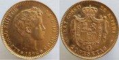 20 Pesetas 1896 Spain 1896 GOLD 20 PESETAS SPAIN, VERY SCARCE, UNCIRCULATED Uncirculated