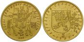 Tschechoslowakei, 5 Dukaten 1933 st St. We...