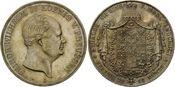 Doppeltaler 1856 A, Preussen, Friedrich Wilhelm IV., 1840-1861, f.st