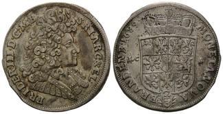Brandenburg-Preussen, 2/3 Taler 1689 LCS, ...