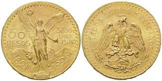 Mexiko, 50 Pesos 1926, vz-st Libertad - Si...