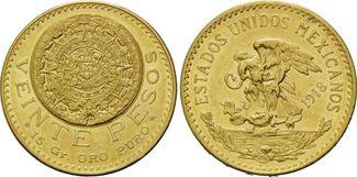 20 Pesos 1918 Mexiko, Republik, seit 1821,...
