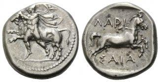 Thessalien Drachme 400-350 v.Chr. f.vz Sta...