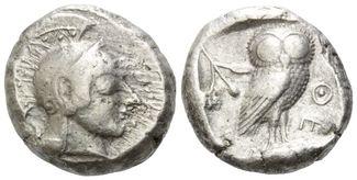 Griechenland, AR Tetradrachme,  gutes ss A...