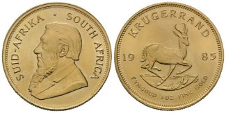 Südafrika, Krügerrand 1985, st Republik, s...