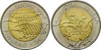 5 Euro 2007 Finnland, 90 Jahre Unabhängigkeit, st  13,00 EUR  zzgl. 6,40 EUR Versand