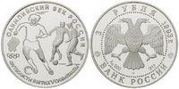 3 Rubel 1993, Russland, 100 Jahre Olympische Spiele der Neuzeit - Fußba... 29,00 EUR25,00 EUR kostenloser Versand