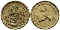 1/2 Escudo 1859 Mo-FH Mexiko, Republik, se...