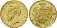 20 Lei 1883 Rumänien, Carol I., vz-st  495,00 EUR  zzgl. 9,40 EUR Versand