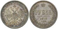 Rubel 1878 SPB/NF, Russland, Alexander II....