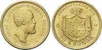 10 Kronen 1873, Schweden, Oskar II., 1872-1907, f.st  325,00 EUR kostenloser Versand