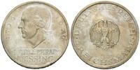 5 Mark 1929 F, Weimarer Republik, Lessing, st  225,00 EUR kostenloser Versand