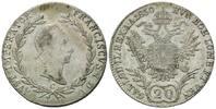 20 Kreuzer 1830 C Haus Habsburg, Franz II. (I.), 1792-1835, ss-vz  25,00 EUR