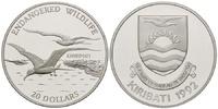 20 Dollars 1992 Kiribati, Fregattvögel - Endangered Wildlife, PP  27,00 EUR22,00 EUR