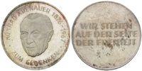 Medaille o.J., BRD, KONRAD ADENAUER, 1876-1967, Erster Deutscher Bundes... 32,00 EUR kostenloser Versand