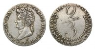 Hannover, Gulden 1829 C,  Georg IV., 1820-1830,