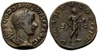 AE Sesterz 239, Röm. Reich, Gordian III., 238-244, braune Patina, ss+  190,00 EUR kostenloser Versand