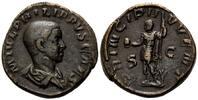 AE Sesterz  Röm. Reich, Philipp II. als Caesar, 244-247, braune Patina,... 220,00 EUR kostenloser Versand
