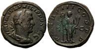 AE Sesterz,  Röm. Reich, Philipp I., 244-249, braune Patina, ss  280,00 EUR kostenloser Versand
