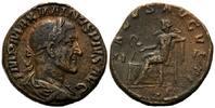 AE Sesterz 235-236, Röm. Reich, Maximinus I. Thrax, 235-238, braune Pat... 230,00 EUR kostenloser Versand