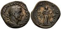 AE Sesterz,  Röm. Reich, Philipp I., 244-249, braune Patina, ss  250,00 EUR kostenloser Versand
