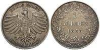 Gulden 1838 Frankfurt, Freie Stadt, 1815-1866, ss-vz  135,00 EUR kostenloser Versand