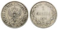 Markkaa 1874 Finnland, Alexander II., ss  40,00 EUR