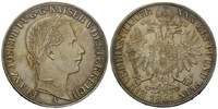 Taler 1861 Haus Habsburg, Franz Joseph I., 1848-1916, vz/st  290,00 EUR kostenloser Versand