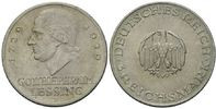3 Mark 1929 D, Weimarer Republik, Lessing, vz  60,00 EUR kostenloser Versand