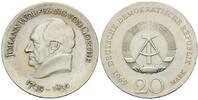 20 Mark 1969, DDR, Goethe, Kr., st  88,00 EUR kostenloser Versand