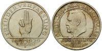 5 Mark 1929 E, Weimarer Republik, Schwurhand, kl.Kr., st  255,00 EUR kostenloser Versand