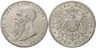 5 Mark 1908 D, Sachsen-Meiningen, Georg II., 1866-1914, ss-vz  295,00 EUR kostenloser Versand