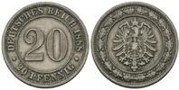 20 Pfennig 1888 E, Kaiserreich, Kleinmünze, ss+  45,00 EUR kostenloser Versand