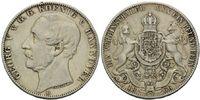 Hannover, Vereinstaler 1866 B ss Georg V., 1851-1866, 50,00 EUR  zzgl. 6,40 EUR Versand