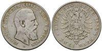 2 Mark 1888 A, Preussen, Friedrich III., 1888, ss  59,00 EUR kostenloser Versand