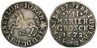 12 Mariengroschen 1672, Braunschweig-Calenberg-Hannover, Johann Friedri... 36,00 EUR kostenloser Versand