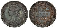 Quarter Anna 1883, Britisch Indien, Victoria, 1837-1901, ss+  9,00 EUR  zzgl. 6,40 EUR Versand