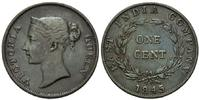 Cent 1845, Britisch Indien, Victoria, 1837-1901, ss-vz  69,00 EUR kostenloser Versand