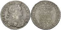 Ecu de Navarre 1718, Frankreich, Ludwig XV., 1715-1774, ss  485,00 EUR kostenloser Versand