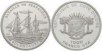 1000 Francs 2007 Elfenbeinküste, Bucentaur, PP  39,00 EUR