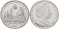10 Dollars 2005, Britische Jungferninseln, Admiral Nelson, PP  35,00 EUR kostenloser Versand