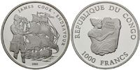 1000 Francs 2003 Kongo, James Cook, PP  30,00 EUR26,00 EUR