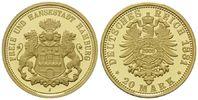 20 Mark 1881 (NP 2005) Hamburg, Freie und Hansestadt, PP  115,00 EUR