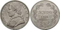 Scudo 1853 R, Rom, Vatikan, Pius IX., 1846-1878, sauber entfernte Hsp.,... 146,00 EUR kostenloser Versand
