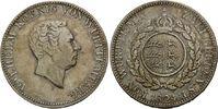Doppelgulden 1824, Württemberg, Wilhelm I., 1816 - 1864, ss+  595,00 EUR kostenloser Versand