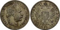 Florin 1886 Österreich, Franz Joseph I., 1848-1916, f.vz  35,00 EUR